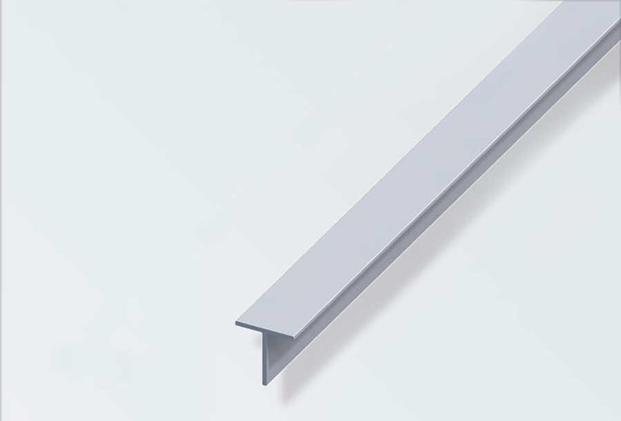 t profil 20x20 mm alueloxeret 1 m. Black Bedroom Furniture Sets. Home Design Ideas